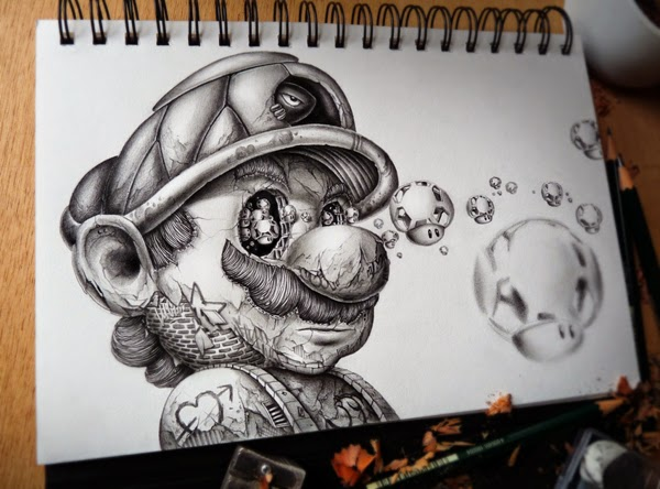 Distroy, por PEZ Artwork, Mario Bros.