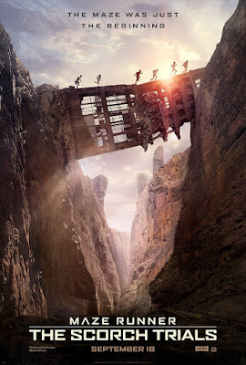 The Maze Runner The Scorch Trials Movie Poster 2
