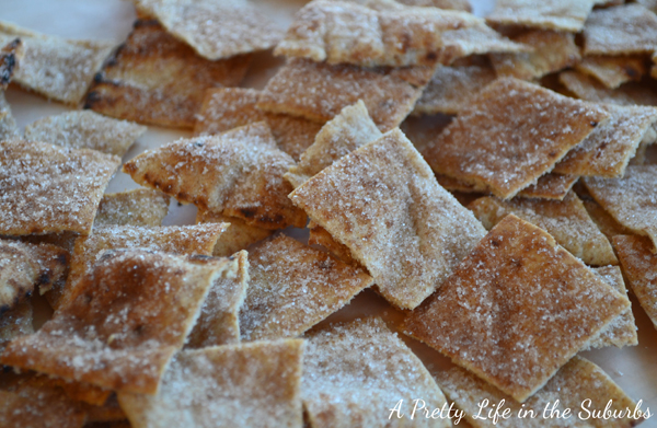 Whole Wheat Cinnamon Sugar Chips