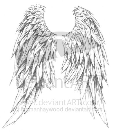 Tattoo Angel Designs on Hairstyles  Popular Angel Tattoos Design