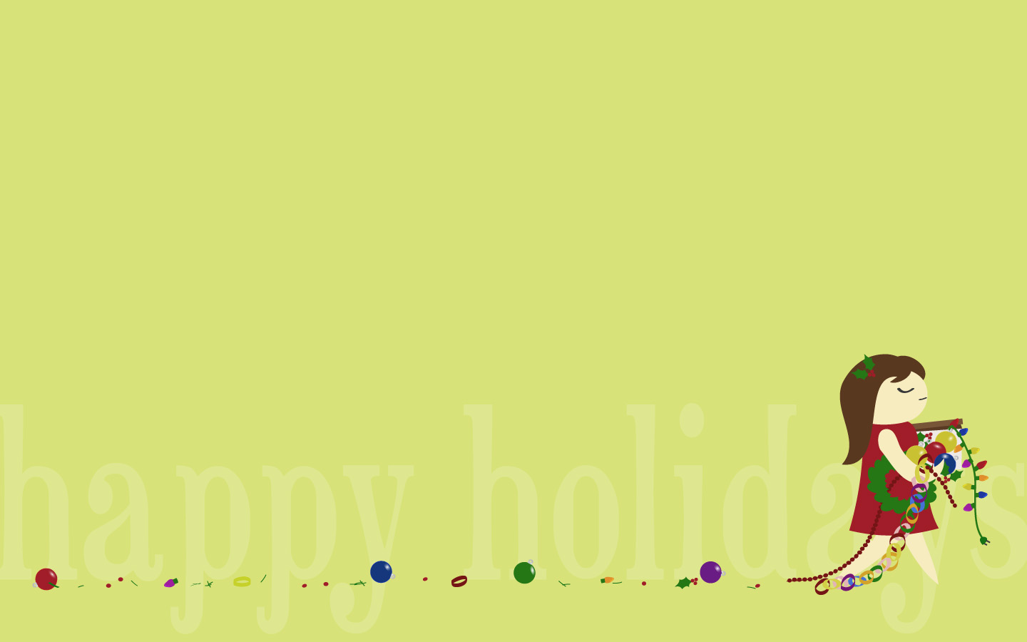 Happy Holidays Christmas Desktop Background Wallpapers And