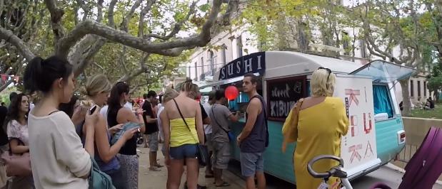Videos del Van van mercado gastronomada de Barcelona