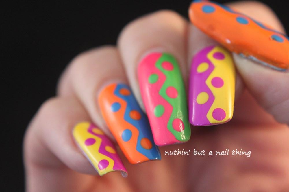 Nuthin But A Nail Thing Zig Zag Nail Art