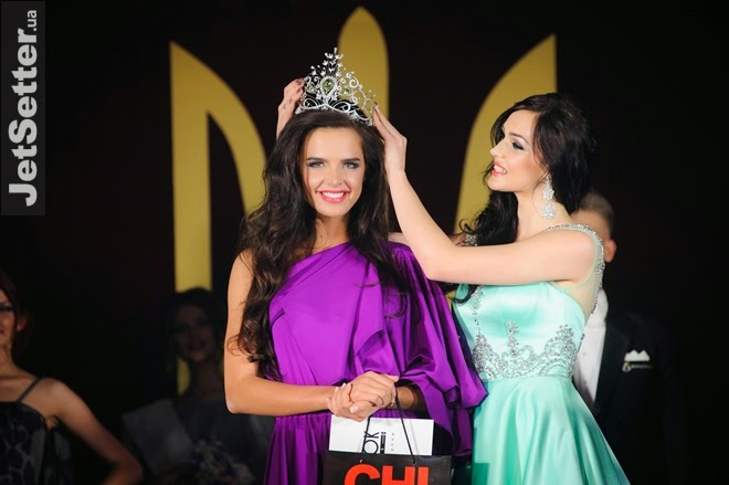 Miss Ukraine Universe 2014 winner Anna Andres