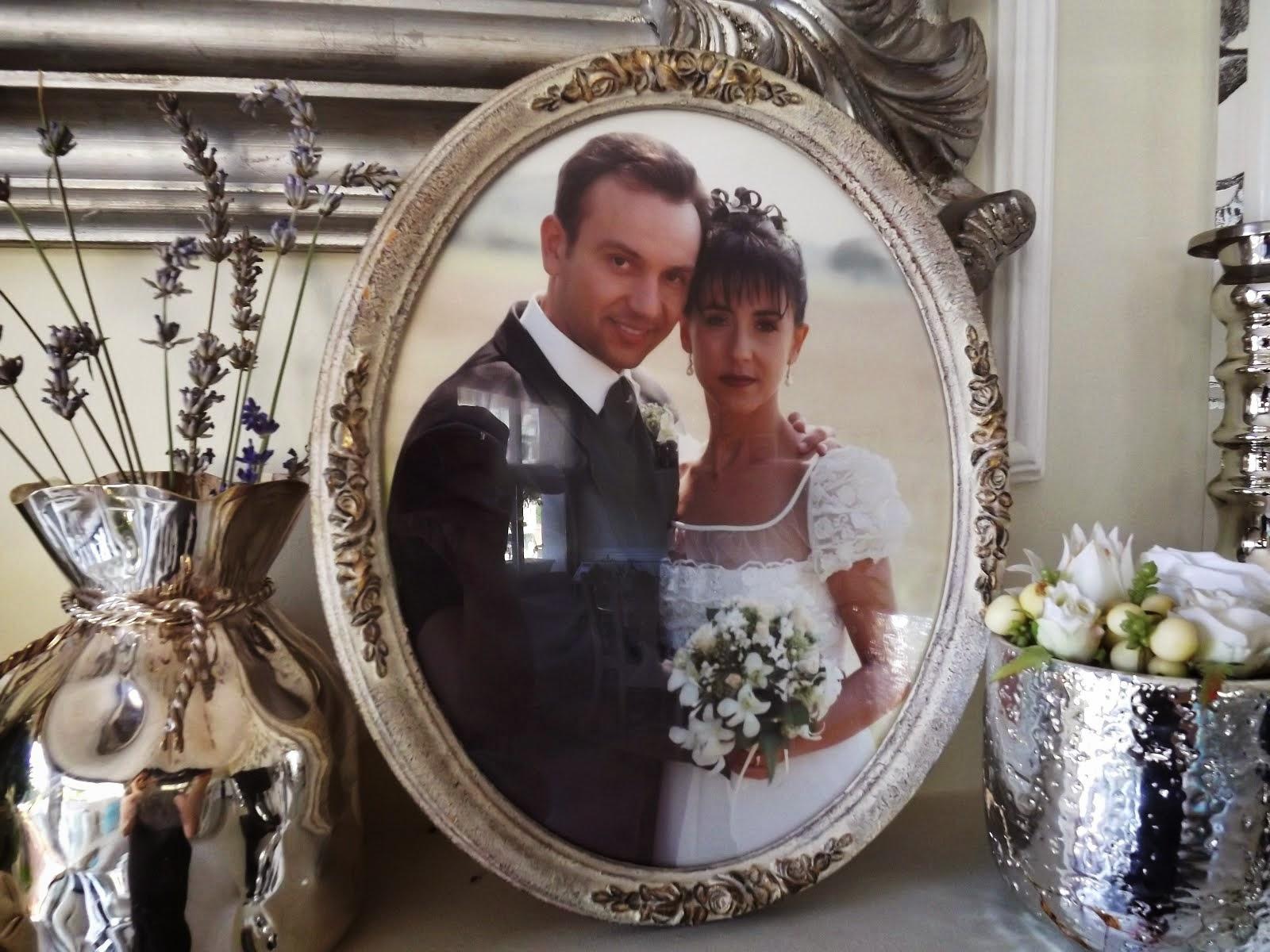Celebramos nuestro aniversario de boda...