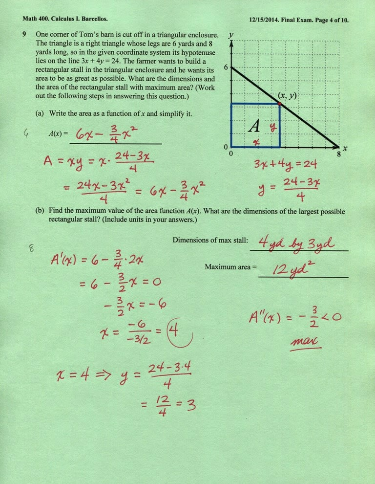 final examination fall 2014