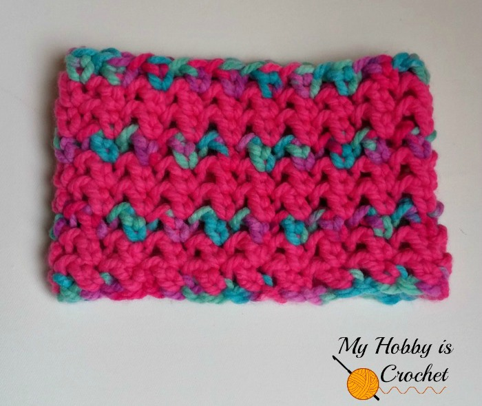 My Hobby Is Crochet Neon Lights Cowl Free Crochet Pattern