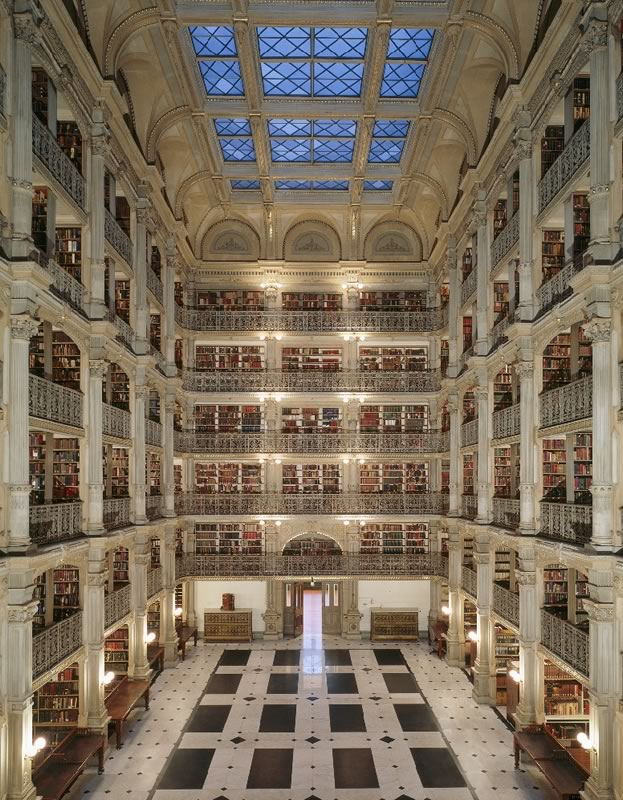 George Peabody Library Study Rooms