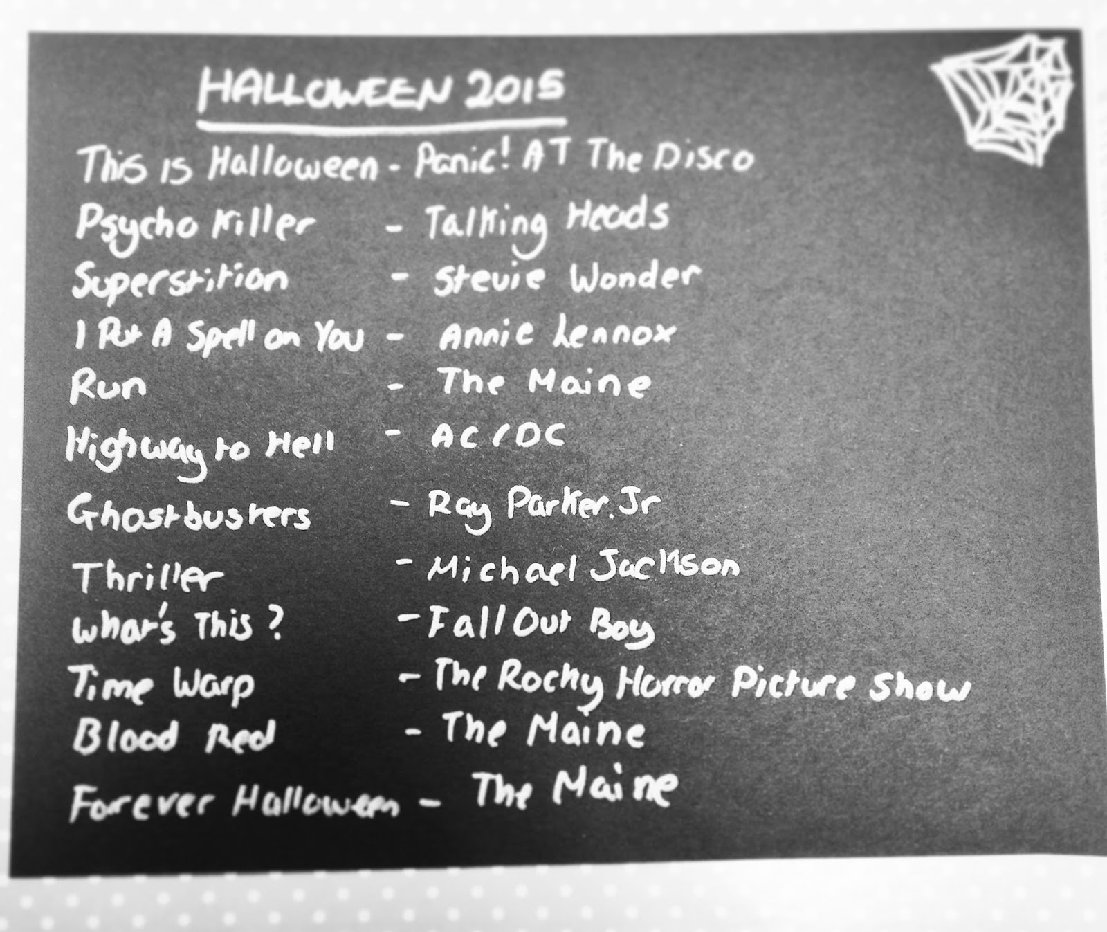 MUSIC | HALLOWEEN PLAYLIST - Formidable Joy