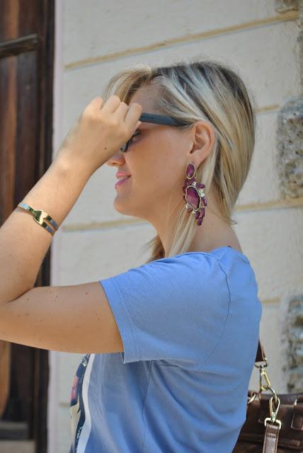 occhiali da sole italia independent bracciale la forketta occhiali da sole neri occhiali da sole da gatta bracciale dorato laFOrketta mariafelicia magno fashion blogger colorblock by felym fashion blog italiani fashion blogger italiane blog di moda blogger di moda italia independent sunglasses