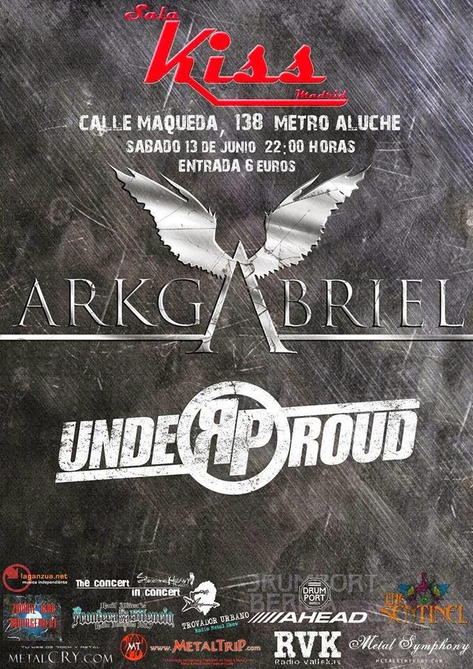 ARKGABRIEL & UNDERPROUND EN CONCIERTO