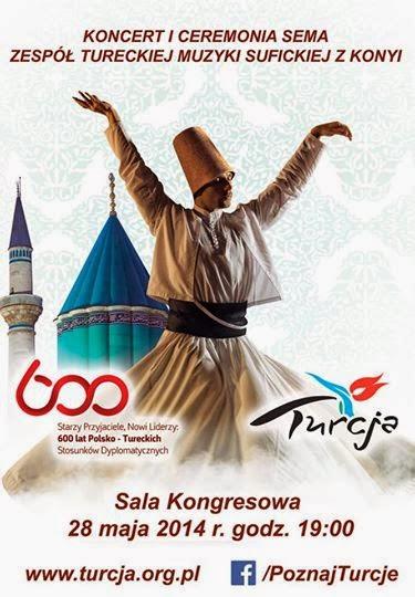 Poznaj Turcję - WYGRAJ zaproszenie na występ wirujących derwiszy