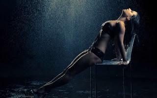 nude photo shoot in rain