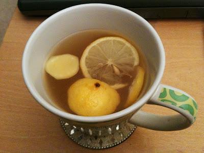 honey and lemon cold remedy