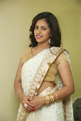 gowthami chowdary glamorous in saree-thumbnail-15