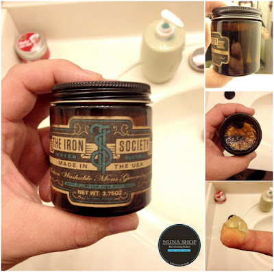 Detail The Iron Society (TIS) Water Soluble Pomade Review Pomade
