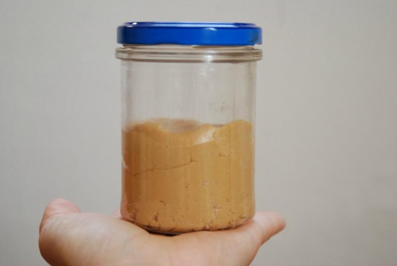 burro di arachidi homemade peanut butter