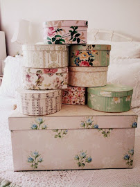 Vintage Inspired Storage Boxes