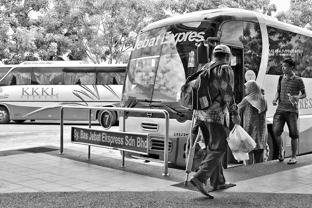 travel, kembara, terminal, bas, Melaka Sentral