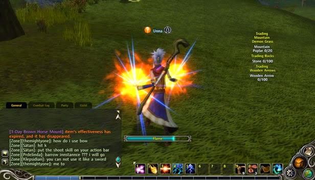 MMORPG Damage over time Spells