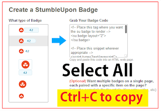 Create StumbleUpon Button