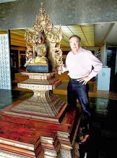 Buddha Pavilion, Dick Gentry, Wesco Fabrics