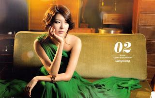 SNSD Sooyoung Desk Calendar 2013