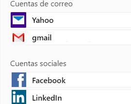Configuracion redes sociales en tu correo yahoo