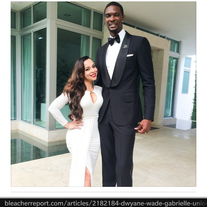Union is to gabrielle married Athlete's Wife