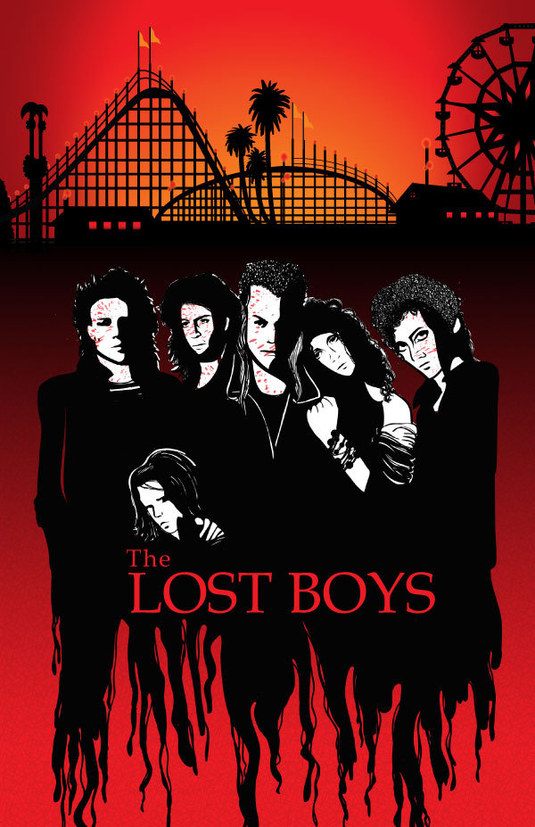 shit movie fest the lost boys poster round up