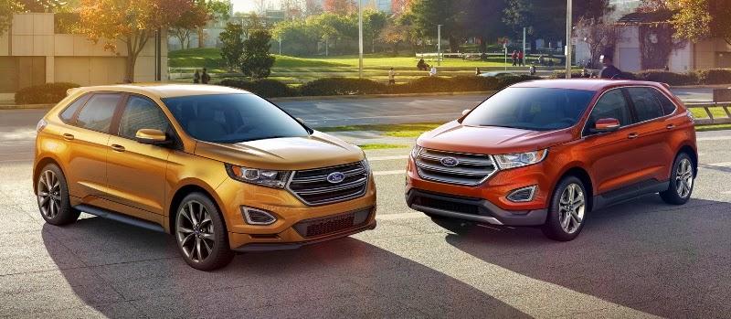 Ford norte-americana mostrou imagens oficiais do seu crossover Edge