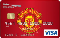 kartu kredit danamon visa manchester united