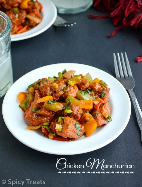 Spicy treats chicken manchurian chicken manchurian recipe dry manchurian is an indo chinese starte it can also be served as a side for fried rice manchurian can be vegetarian like vegetable gobi paneer baby corn forumfinder Image collections