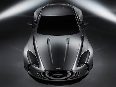 Aston Martin One 77 Front