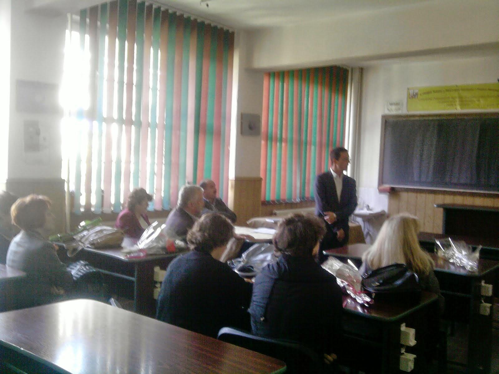 Aspect de la susţinerea gradului I - Prof. Olivia Amironoaie, 8.05.2014