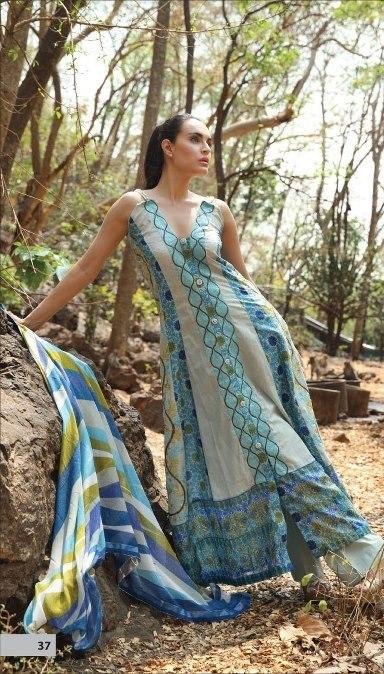 Nadia Hussain Summer Lawn Collection 2013 By Shariq Textiles