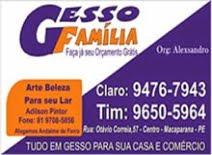 GESSO FAMÍLIA