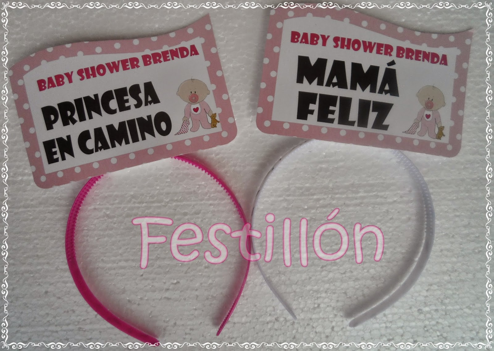 Vinchas Con Frases Para Baby Shower !