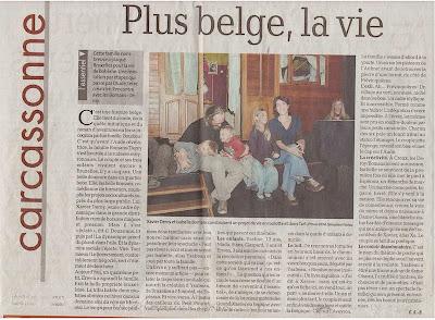La Dépêche du Midi - 18/12/2011