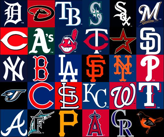 Pin All Mlb Baseball Team Logos on Pinterest