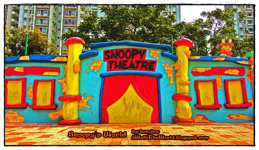 "It would have been nice if this ""Snoopy Theater"" is real and not just"
