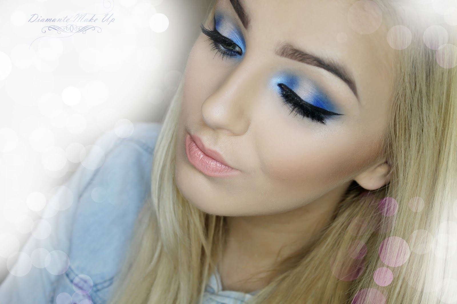Blue Moon - Ekstra Niebieski Makijaz - Wideo Tutorial