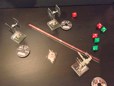 Star Wars X-Wing Miniatures Game Combat