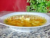 Supa de conopida preparare reteta