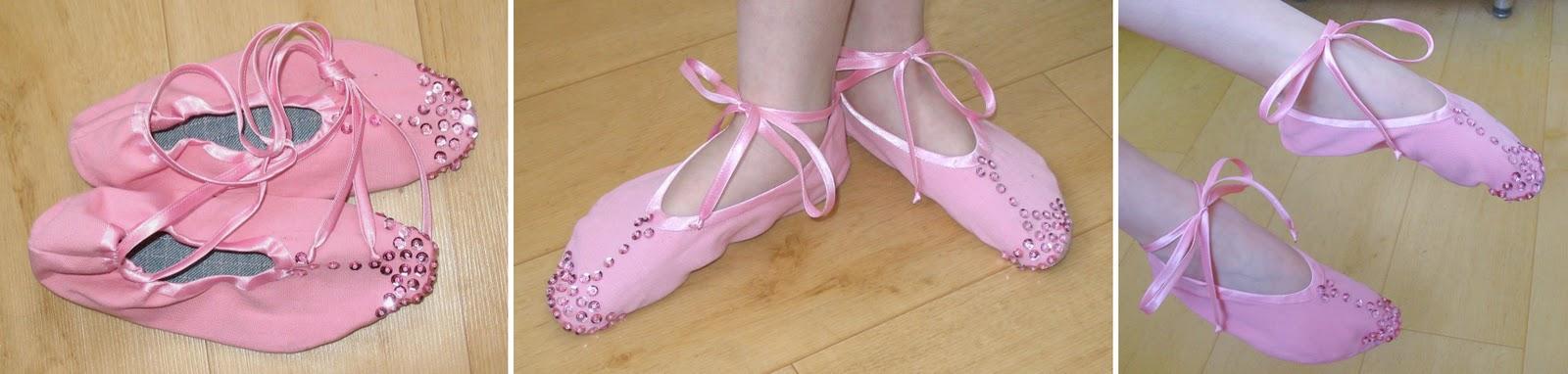 Выкройка балетки для танцев 26