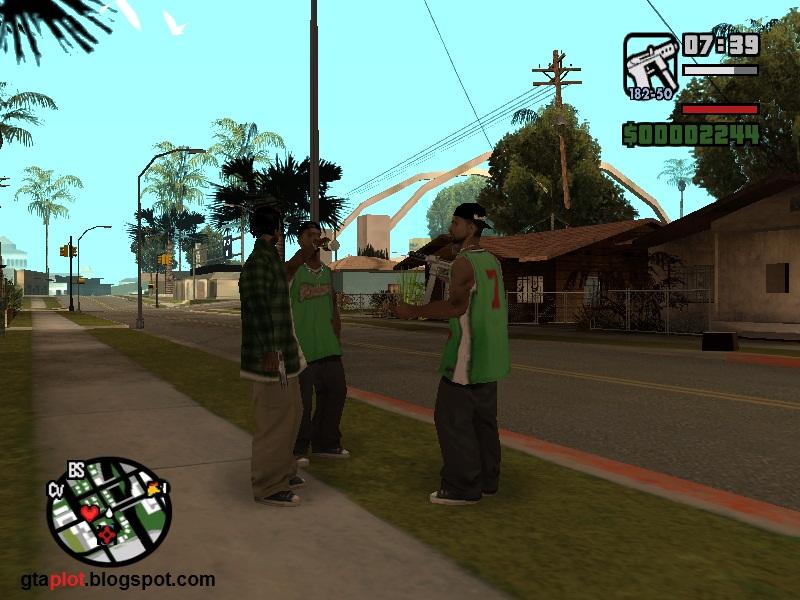 GANGSTER (GENG) DALAM GAME GTA SAN ANDREAS
