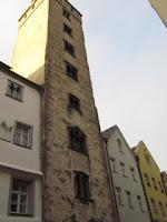 Merchant tower in Regensburg