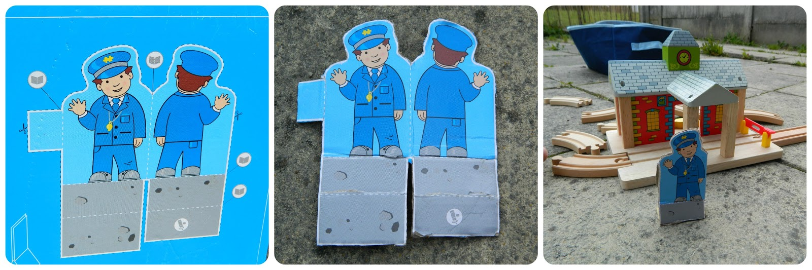 Play Patrol - Bigjigs Rail Railway Station  Cut and Play Activities