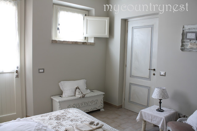 My country nest aura soave shabby chic room for Bagno shabby chic ikea