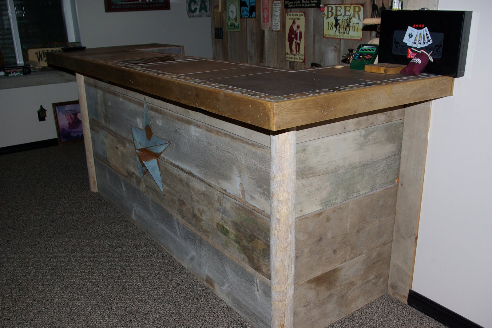 Barn Wood Bar